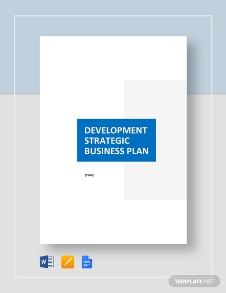 development strategic plan