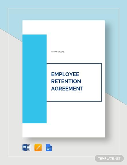 employee retention agreement