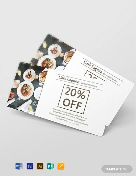 free food voucher template1