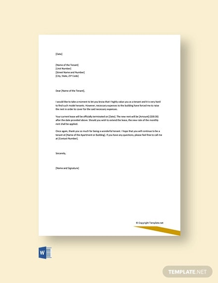 Free Rent Increase Letter Pdf from images.template.net