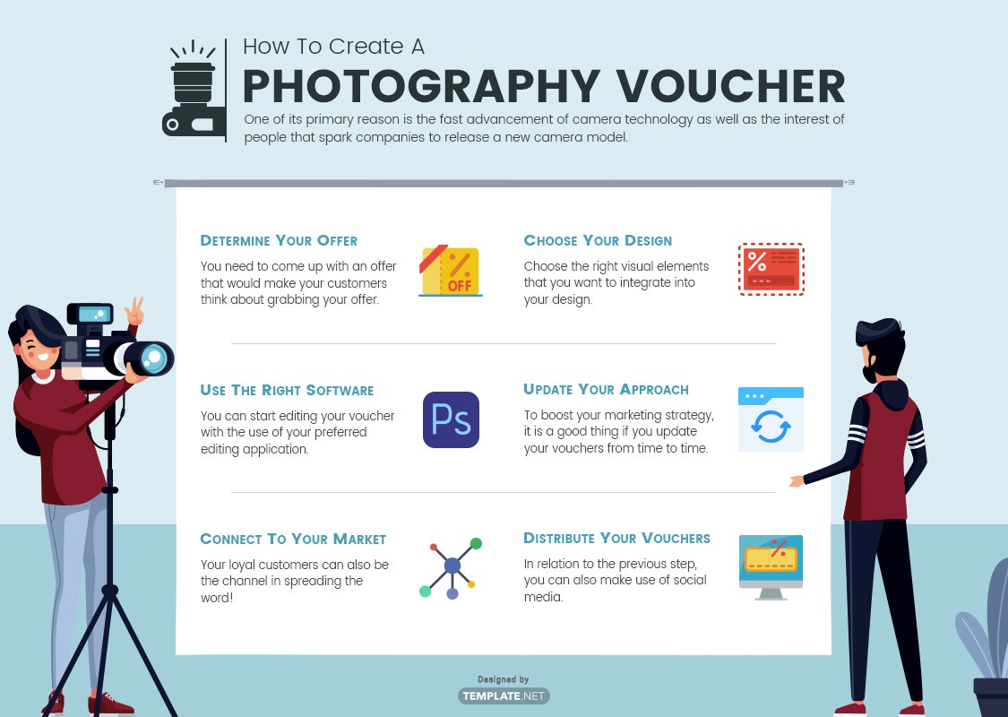 how to create a photography voucher
