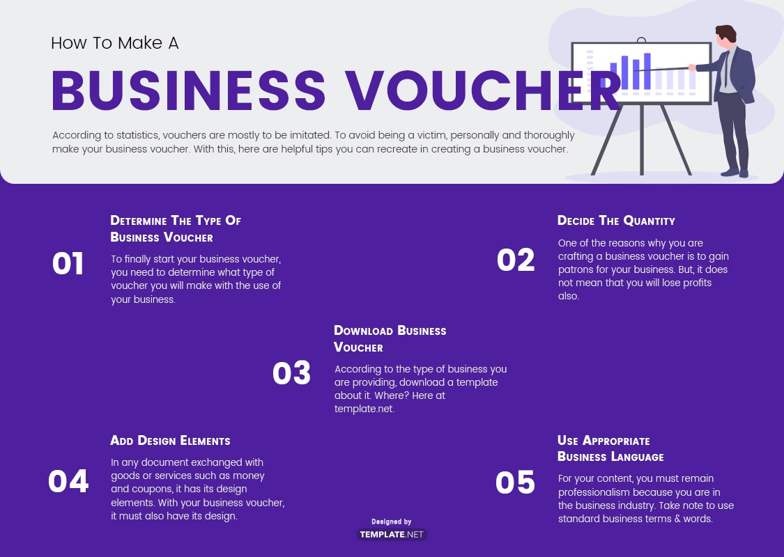 business voucher template