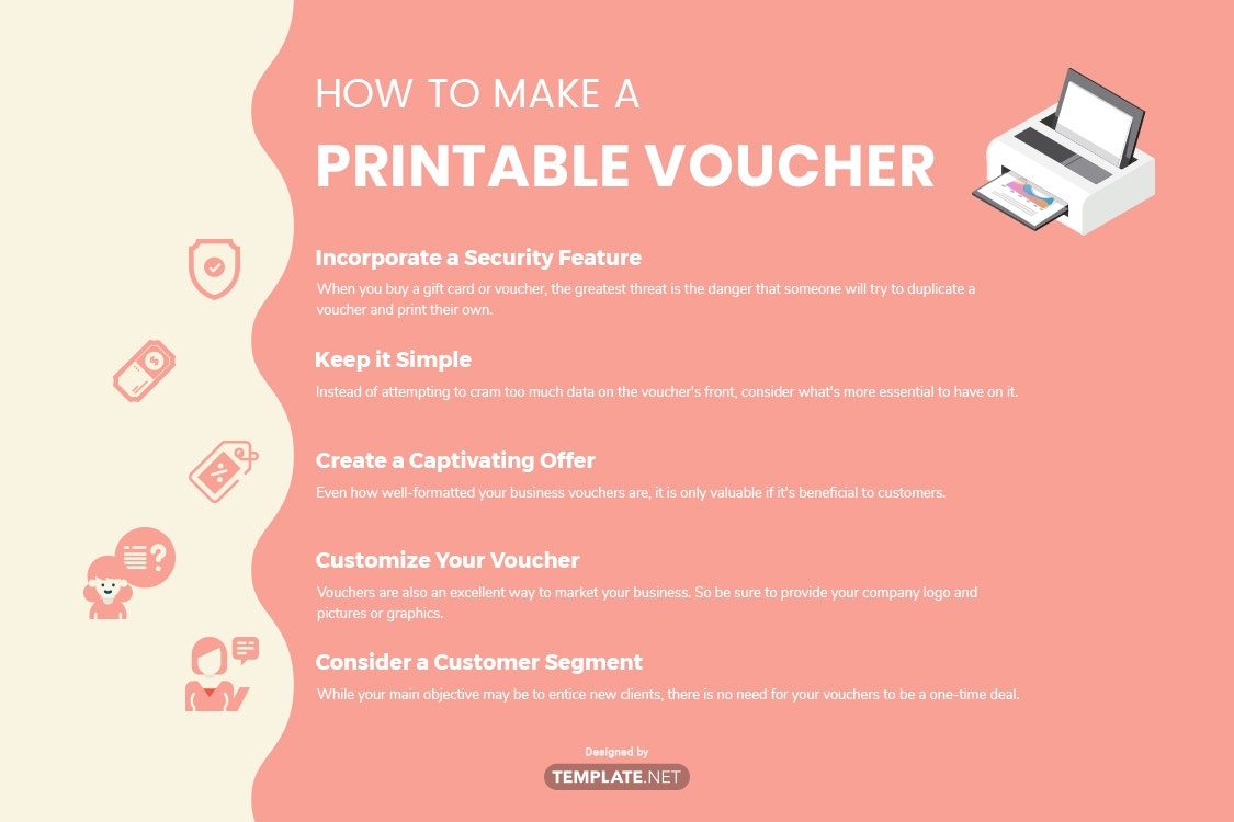 how to make a printable voucher