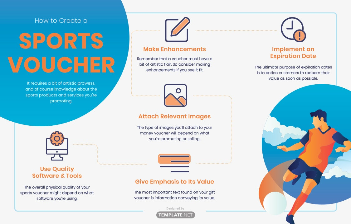 how to create a sports voucher
