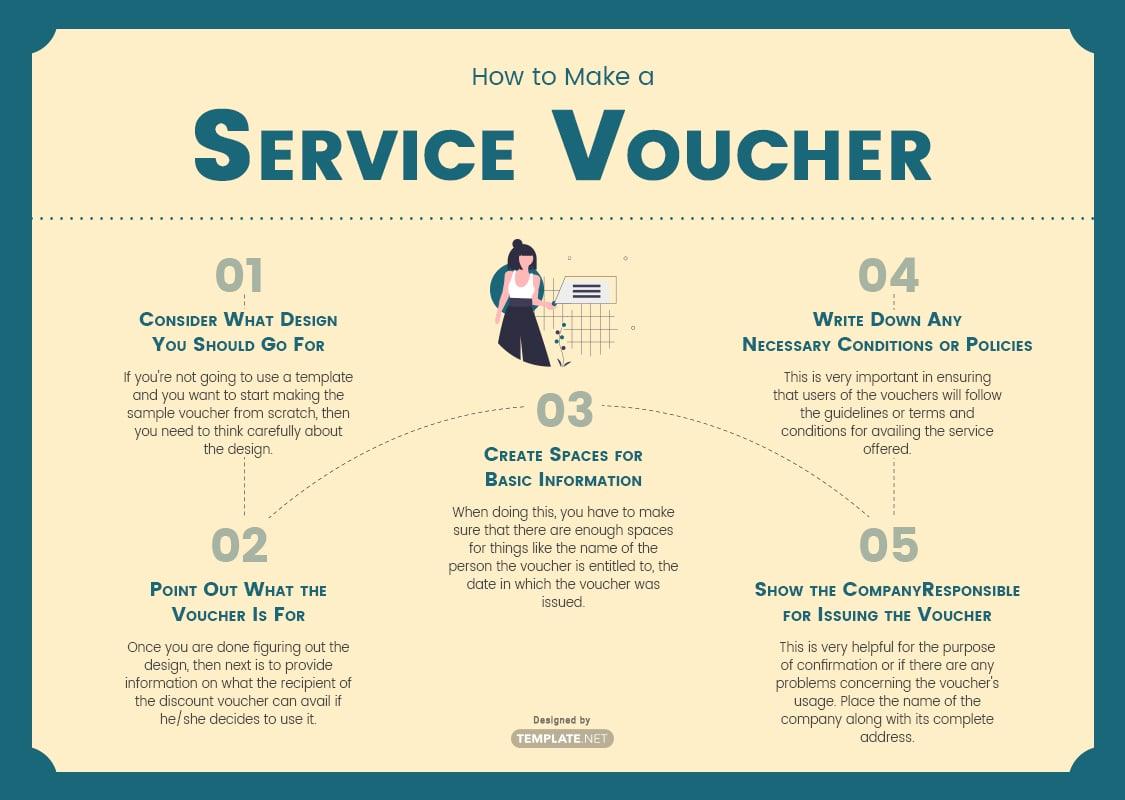 service voucher template