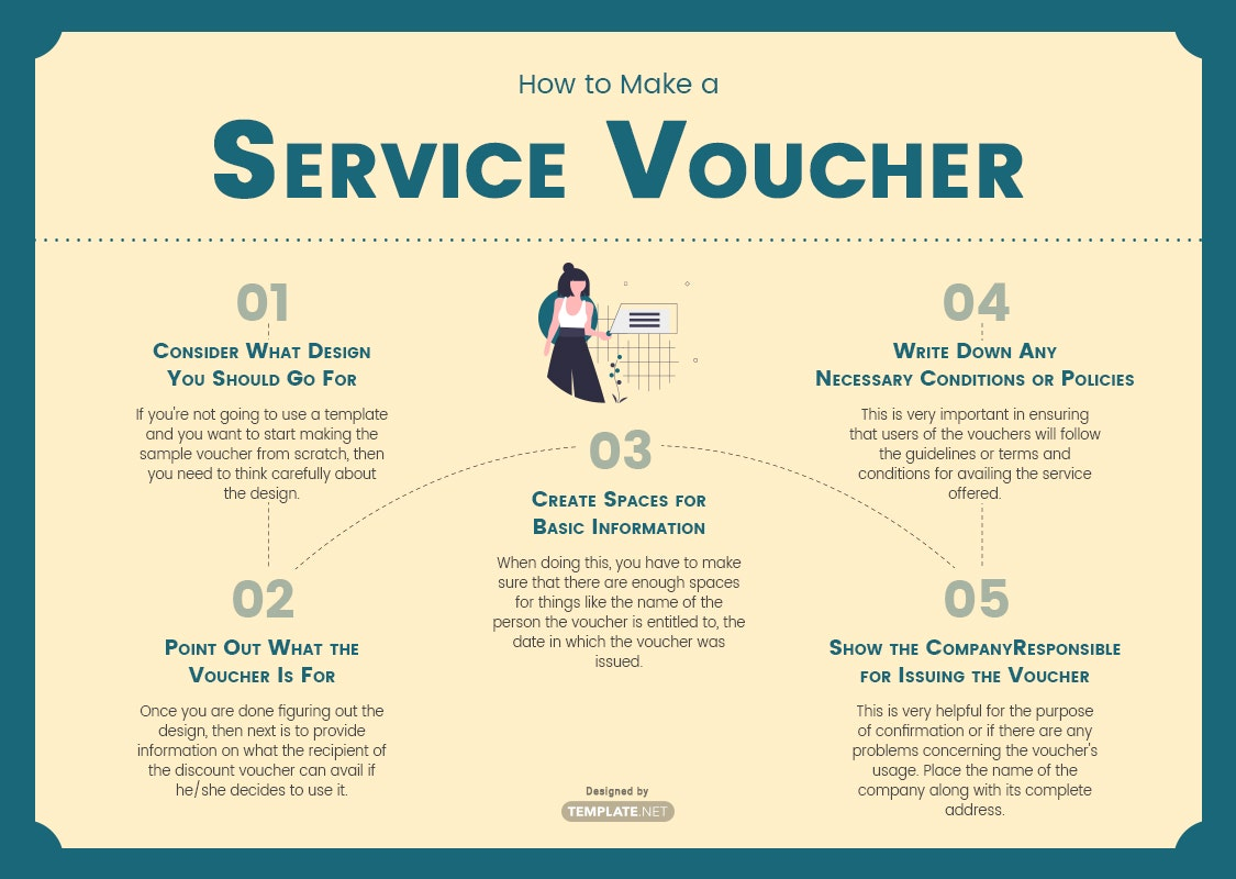 how to make a service voucher