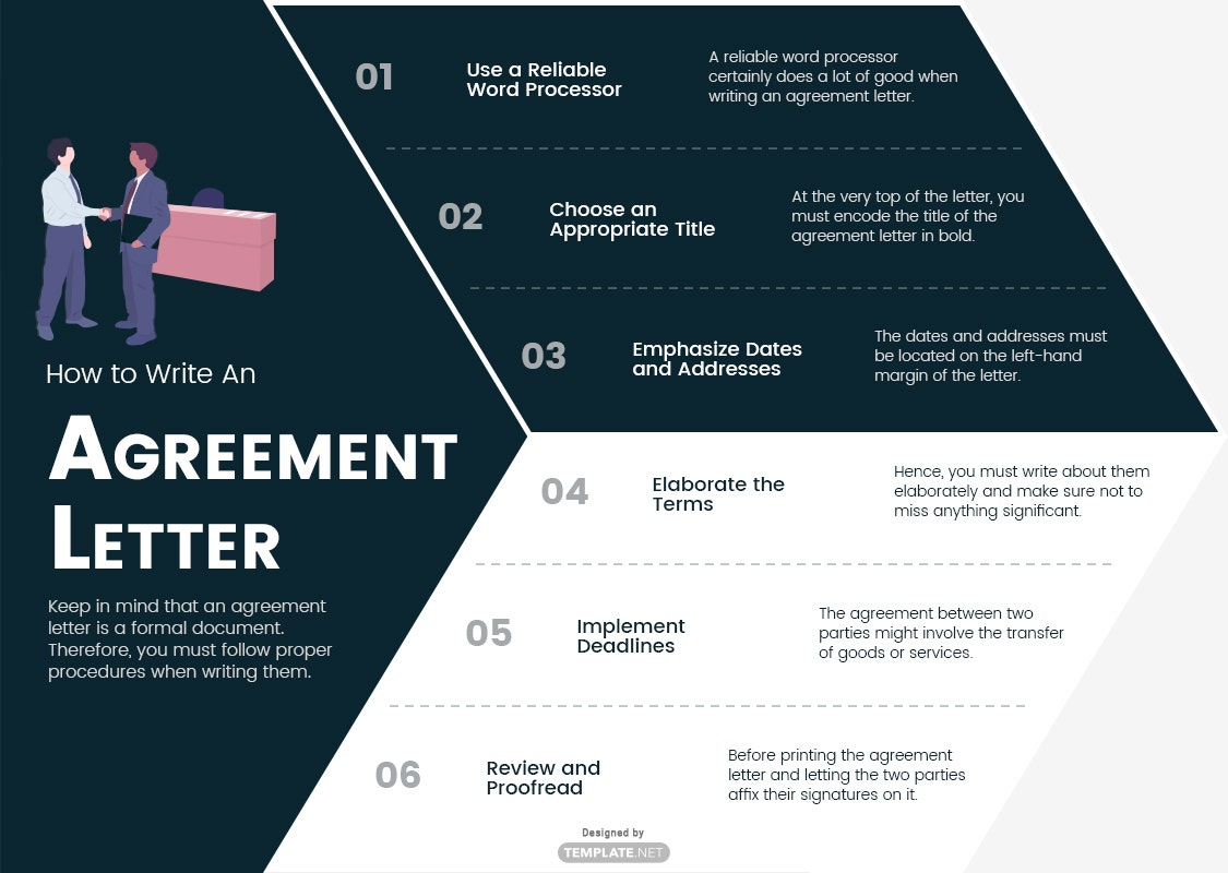 how to write an agreement letter