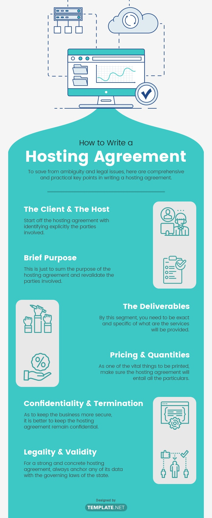 hosting agreement template