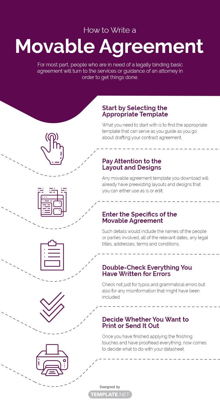 movable agreement template