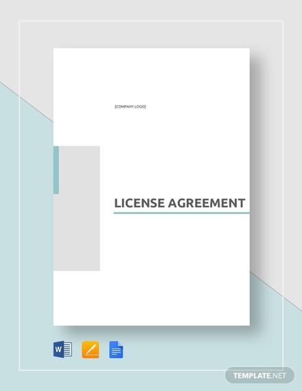 license agreement 2