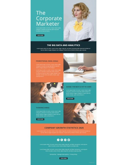 marketing email newsletter