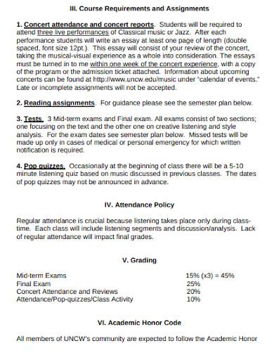 music literature survey