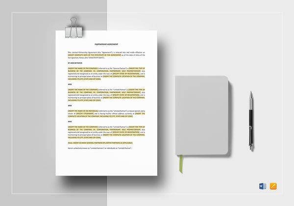 partnership agreement template 600x420