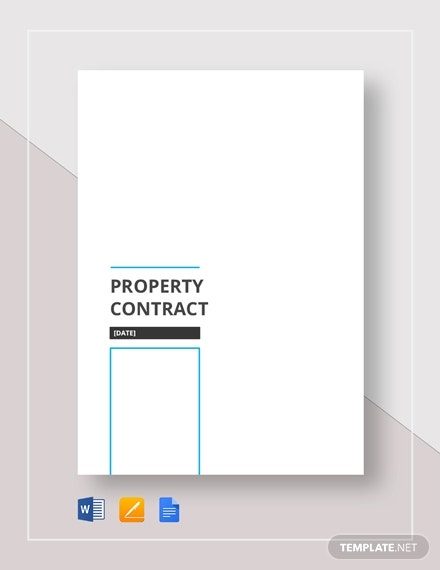 property contract 4