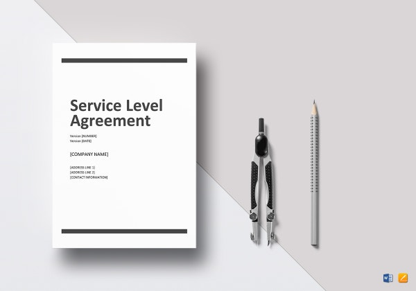 service level agreement mockup 600x420