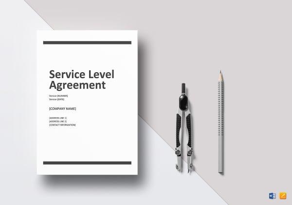 service level agreement mockup 600x4201