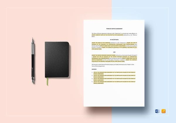 terms of service agreement mockup 600x420