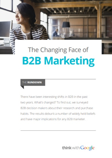 b2b marketing sample