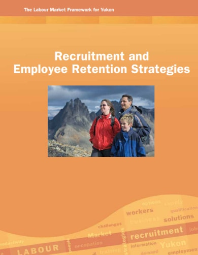 recruitment and retention strategies sample