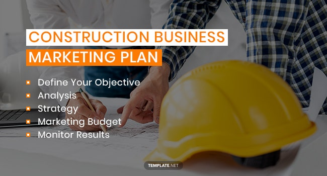 construction business marketing plan