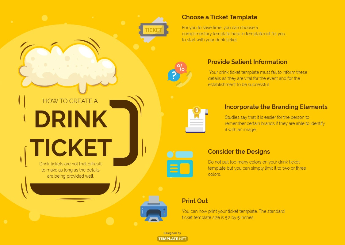 drink ticket template