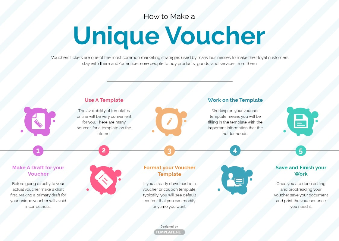unique voucher template