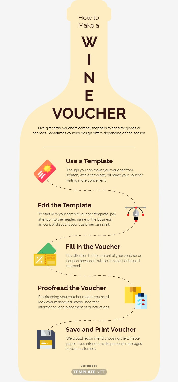 wine voucher template