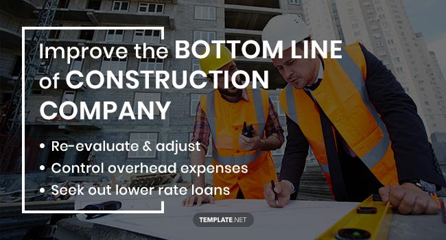 improve the bottom line of construction company