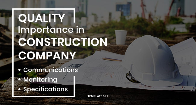 quality importance in construction company