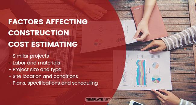 factors affecting construction cost estimating1