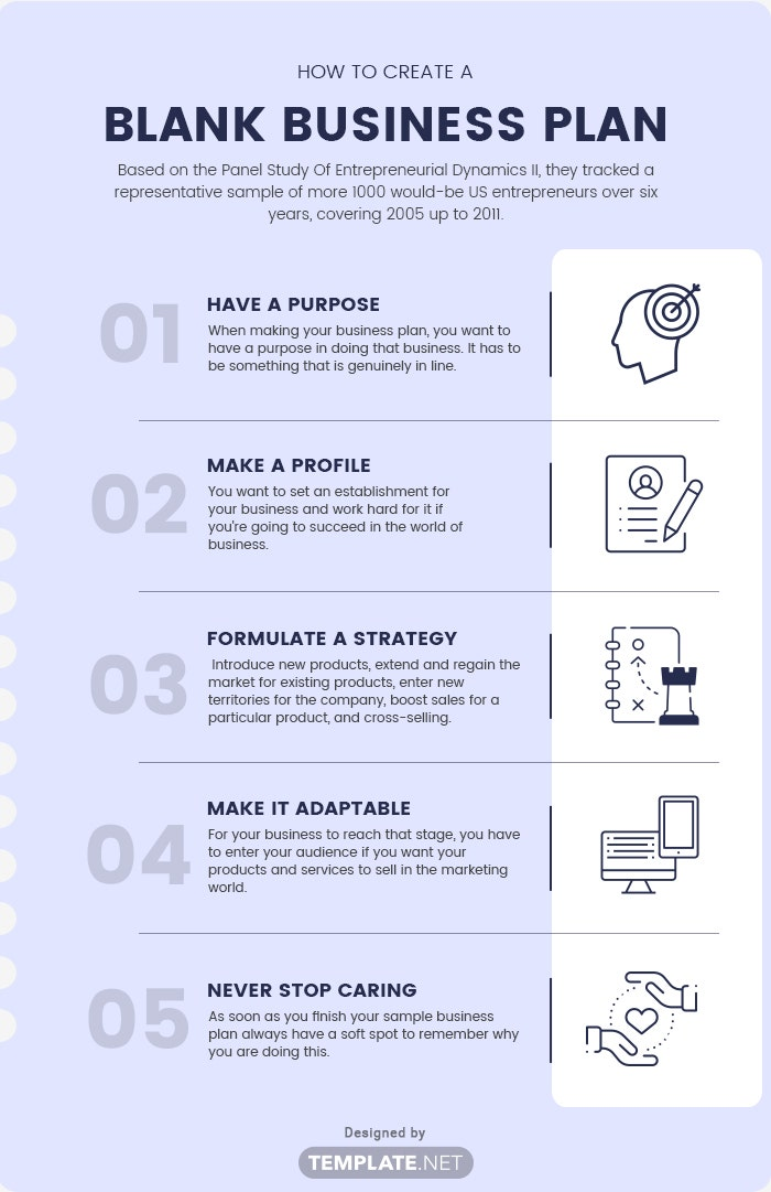 blank business plan template