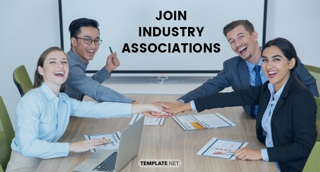 join industry associations