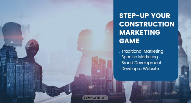 step up your construction marketing game