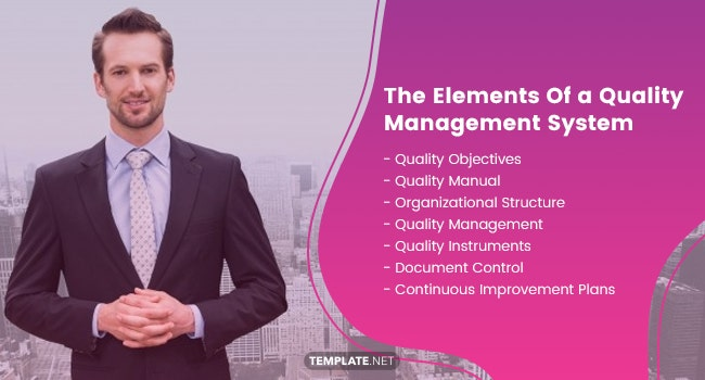 the elements of a quality management system