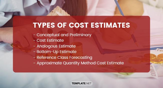 types of cost estimates1
