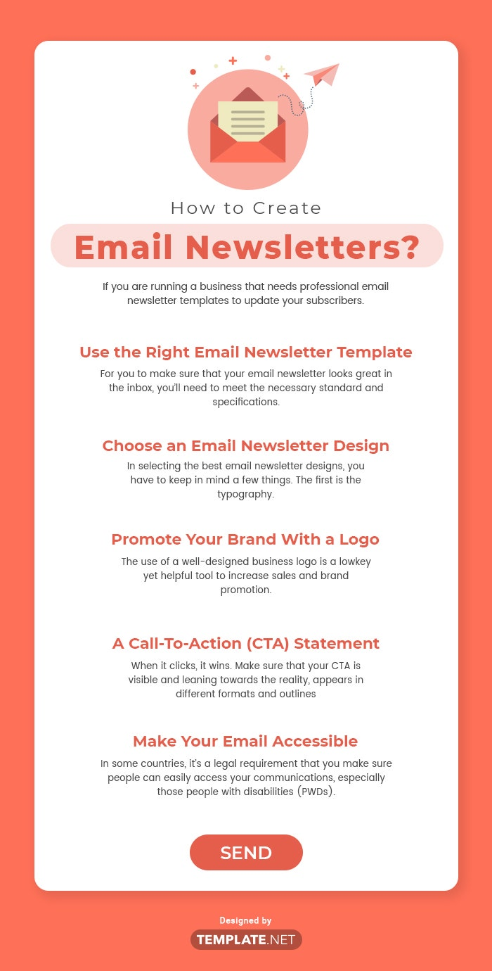 how to create email newsletters?