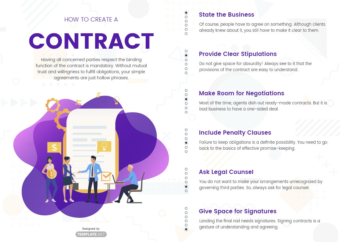 how to create a contract