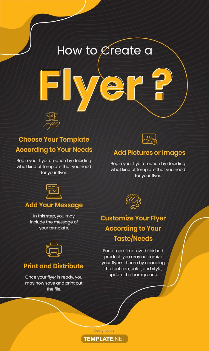 how to create a flyer