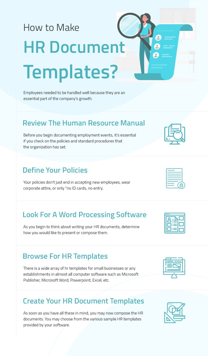 how to make hr document templates?