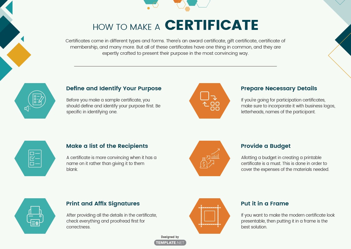 how to make a certificate