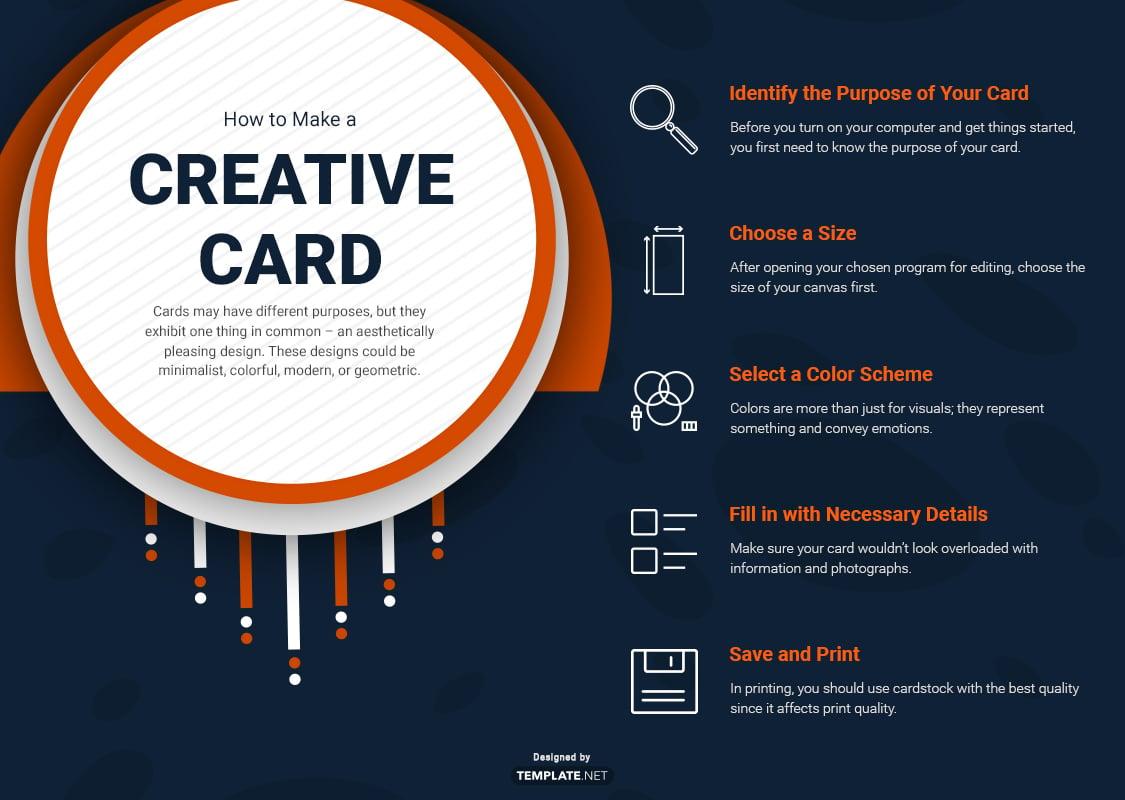 how to make a creative card
