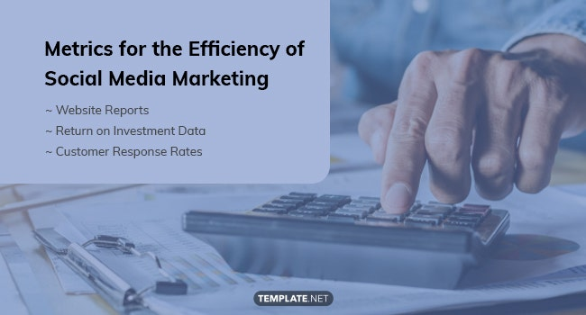 metrics for the efficiency of social media marketing