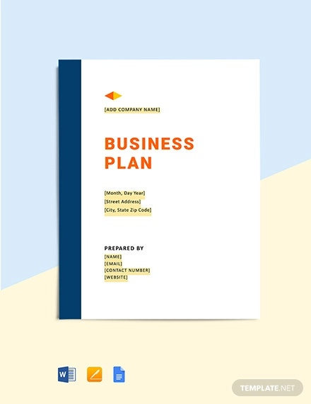 construction company business plan template
