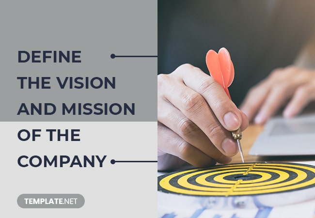 define the vision and mission of the company
