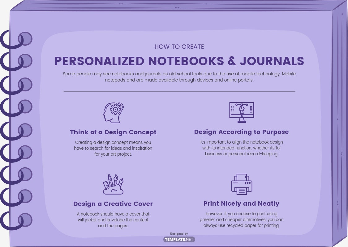 how to create personalized notebooks & journals