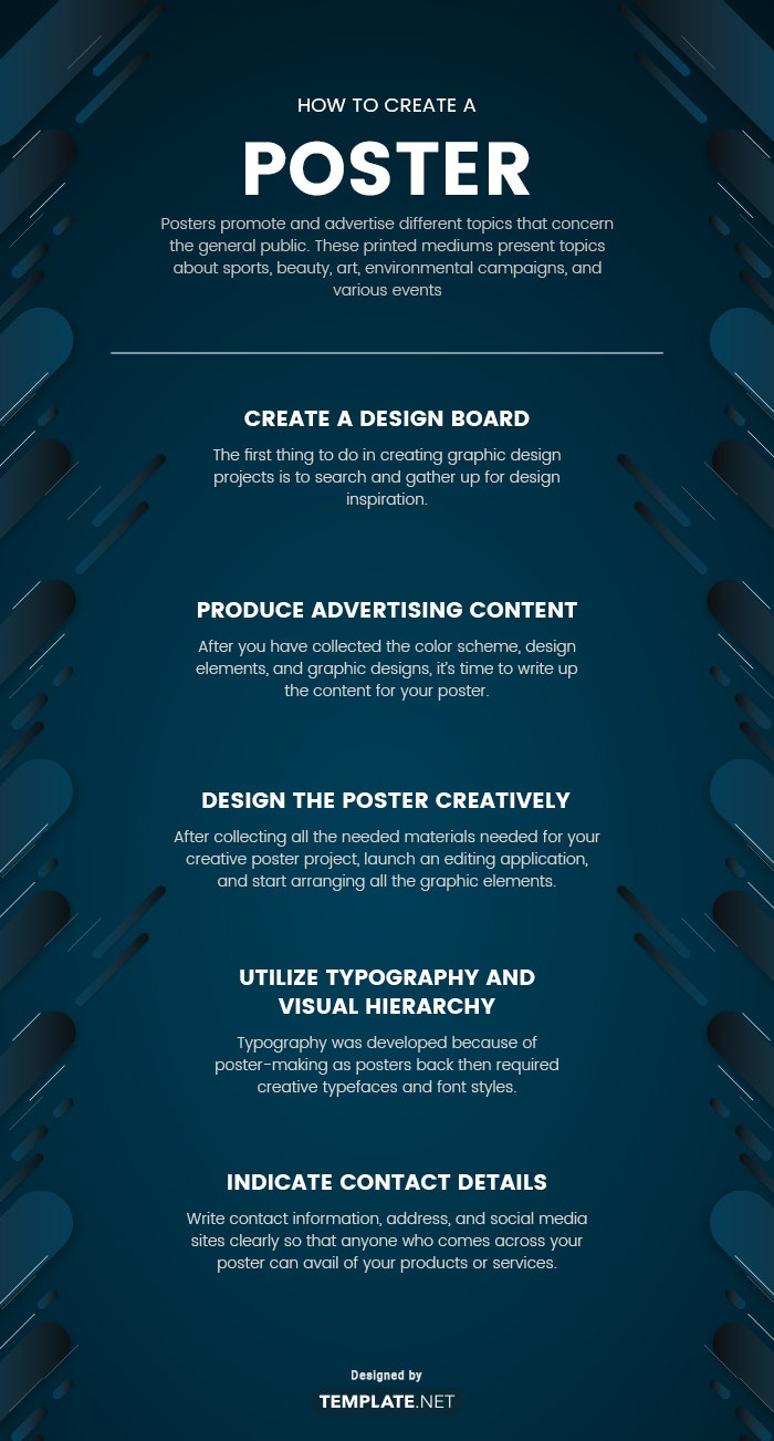 how to create a poster