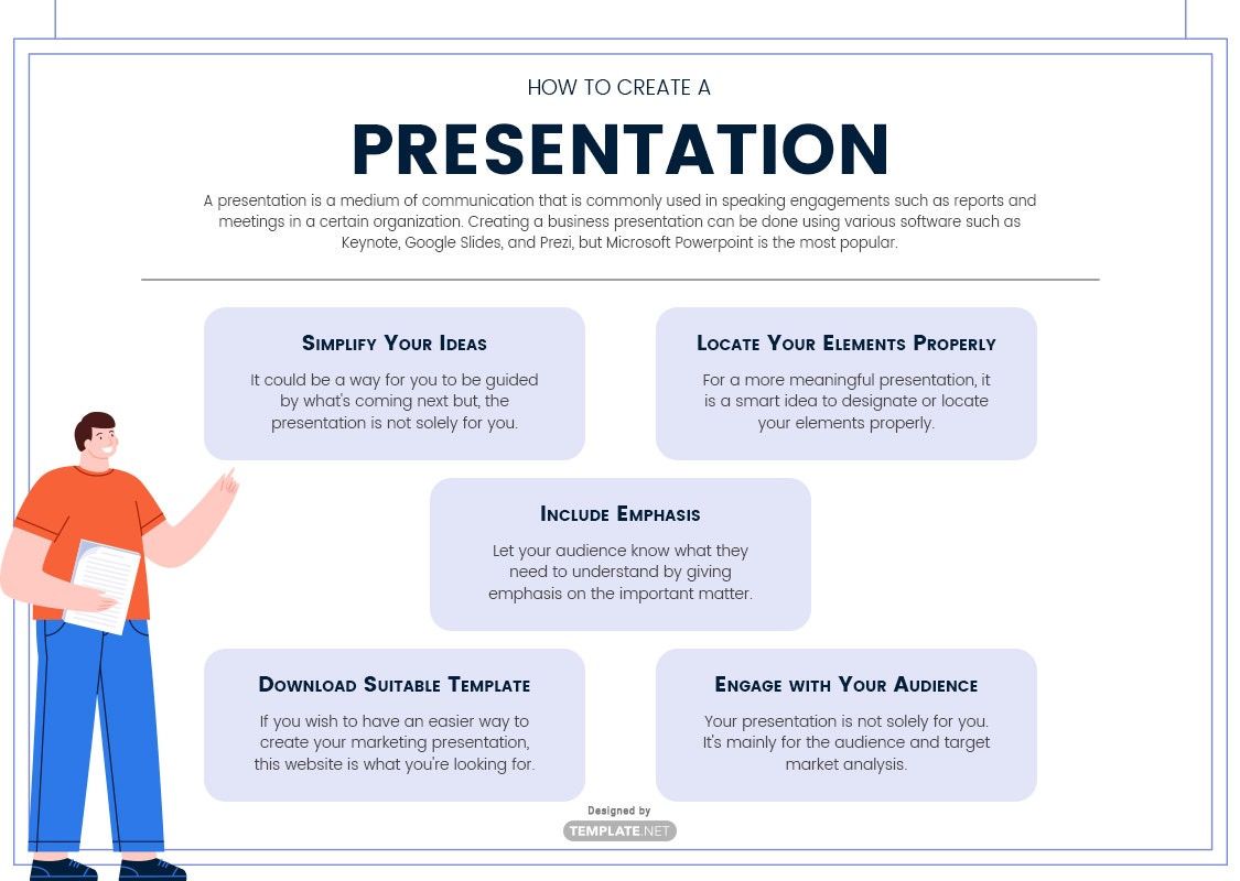 how to create a presentation