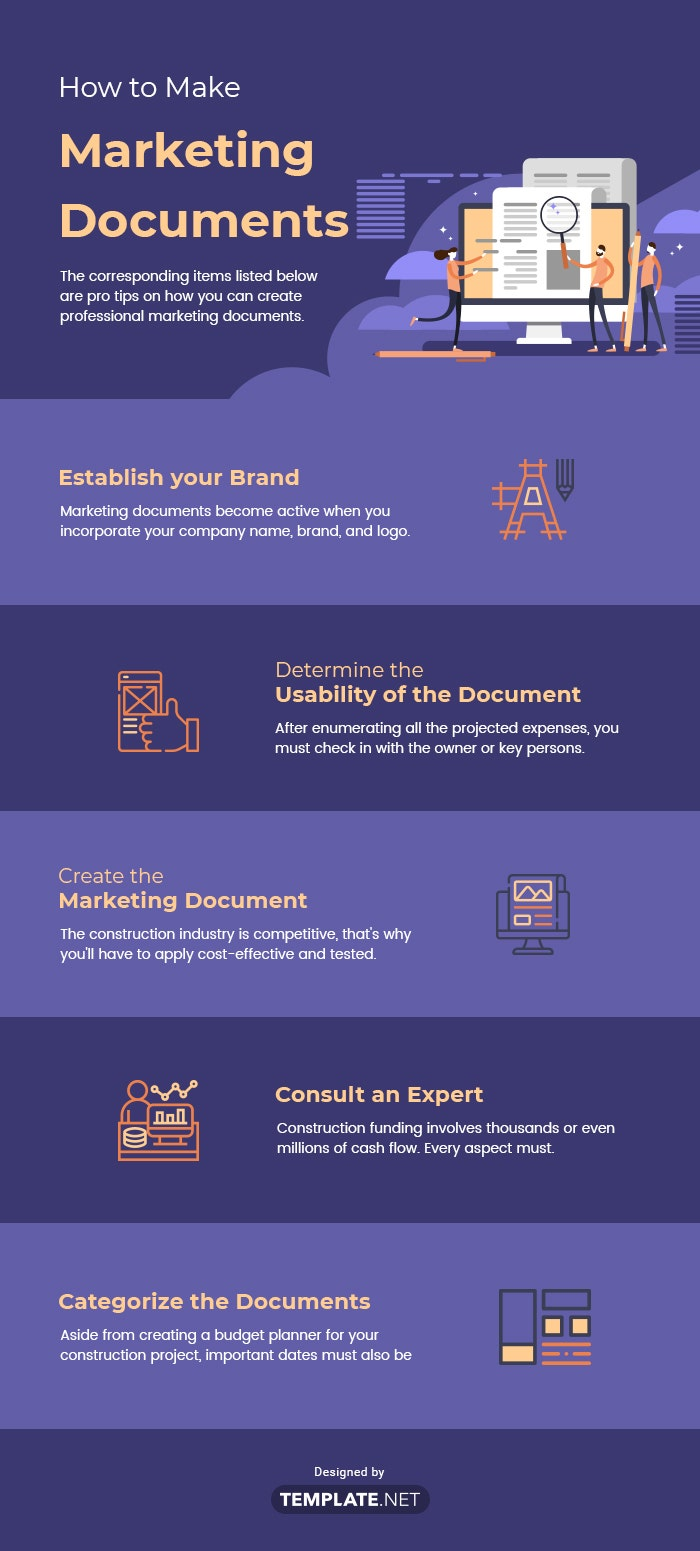 how to make marketing documents