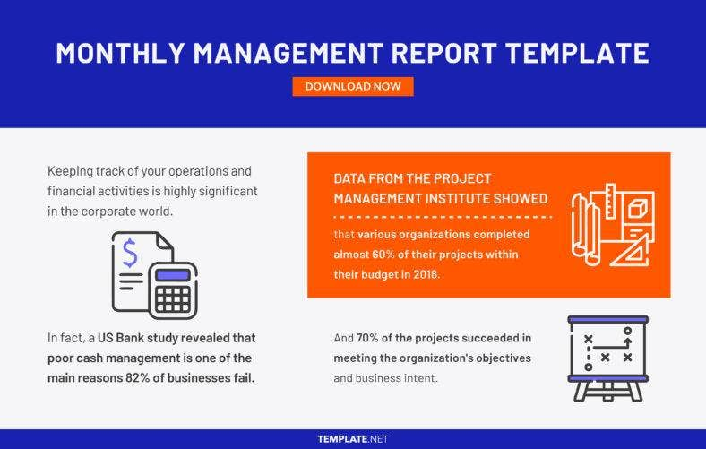 monthly management report template 788x501