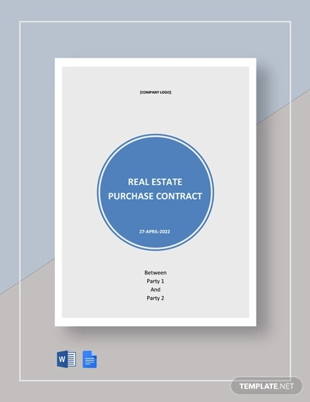 free commercial real estate purchase contract template1